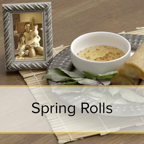 Spring Rolls family recipe