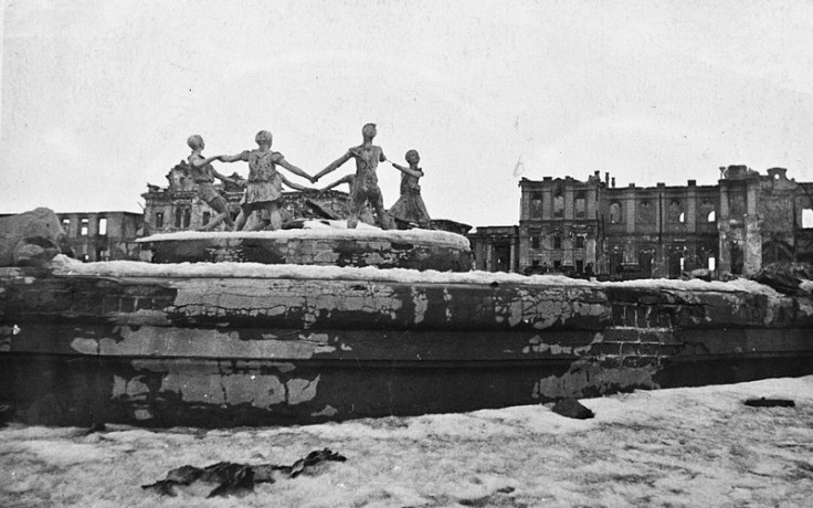 The city of Stalingrad after the war. The Battle of Stalingrad significance affected the land and the rest of the war.