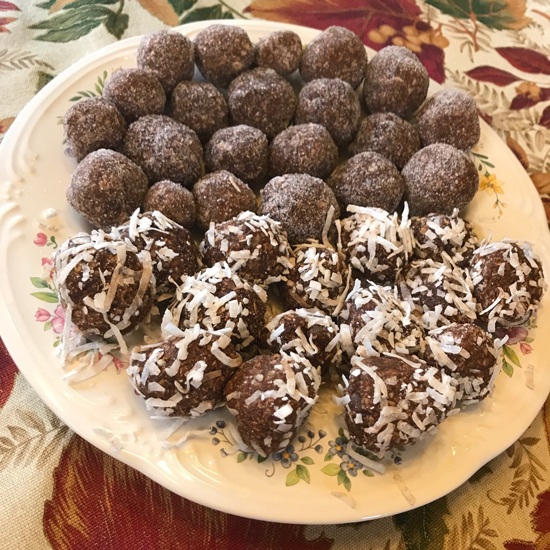 Swedish chocolate balls (Chokladbollar) recipe