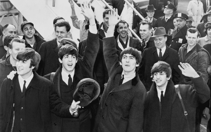 a photo of the beatles, a popular group from the united kingdom