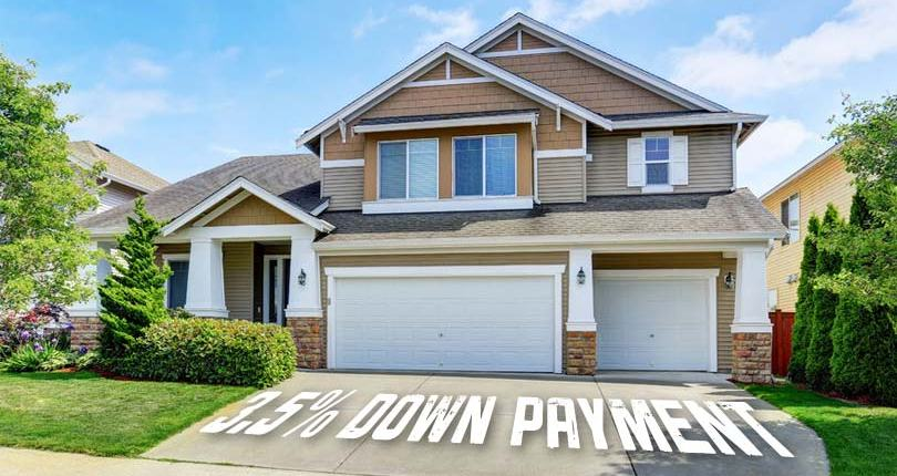 Low Down Payment FHA Loans