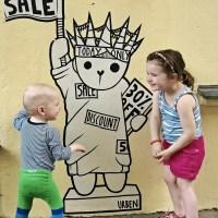 urben street art life.