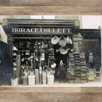 Picture of the type of business Frances father would have sold his goods to.