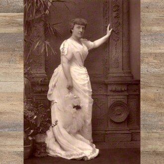 Pictured here for a story in Men and Women of the Day, 1888