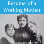 resume of a working mother (2)