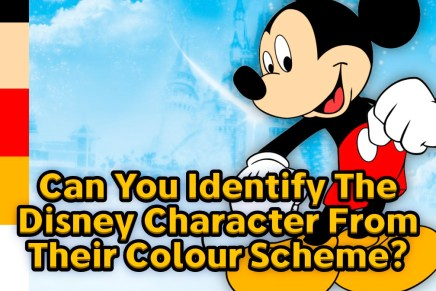 Can You Identify Disney Characters From Their Colour Schemes?