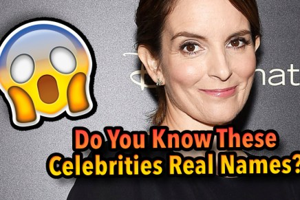 Do You Know These Celebrities Real Names?