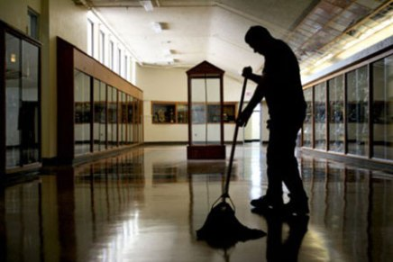 Creative Writing: Janitor