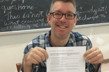 Mr Moore – Teachers of FHCI: Before We Knew Them