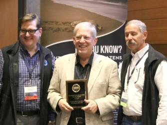 Ted Blank earns Dark Sky honor
