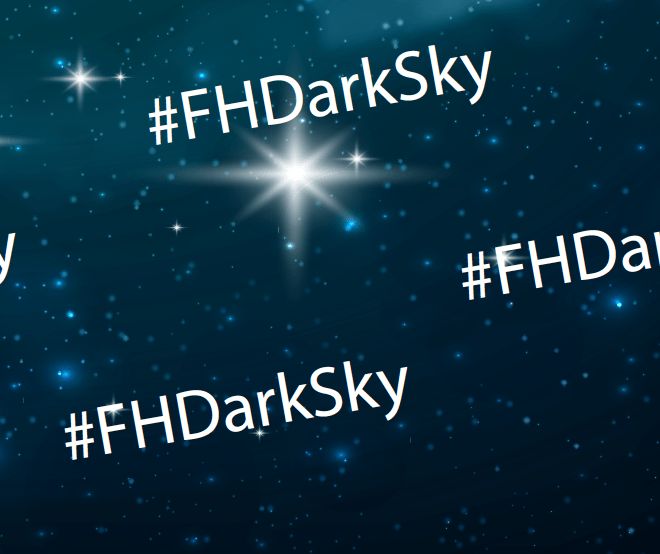 Official Fountain Hills Dark Sky Hashtag