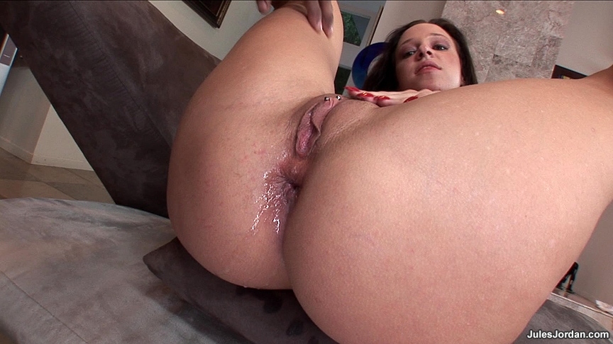 Doggy Style Anal Creampie