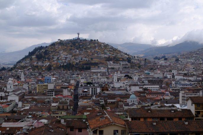 Blick auf die Altstadt von der Kathedrale.