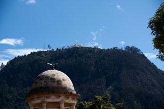 Blick auf das Kloster Montserrat