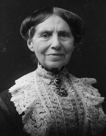 Pictured here is a formal portrait of Clara Barton taken by James E. Purdy in 1904.