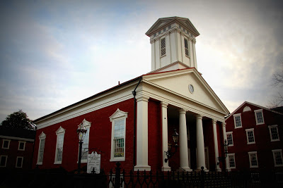 This Church served as one of largest Civil War hospitals during the Battle of Fredericksburg in May 1863.