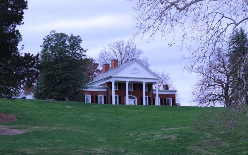 Pictured here is Brompton the home of UMWs President