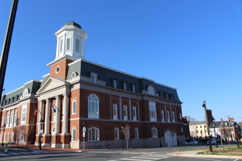 Pictured here is the current Fredericksburg Courthouse