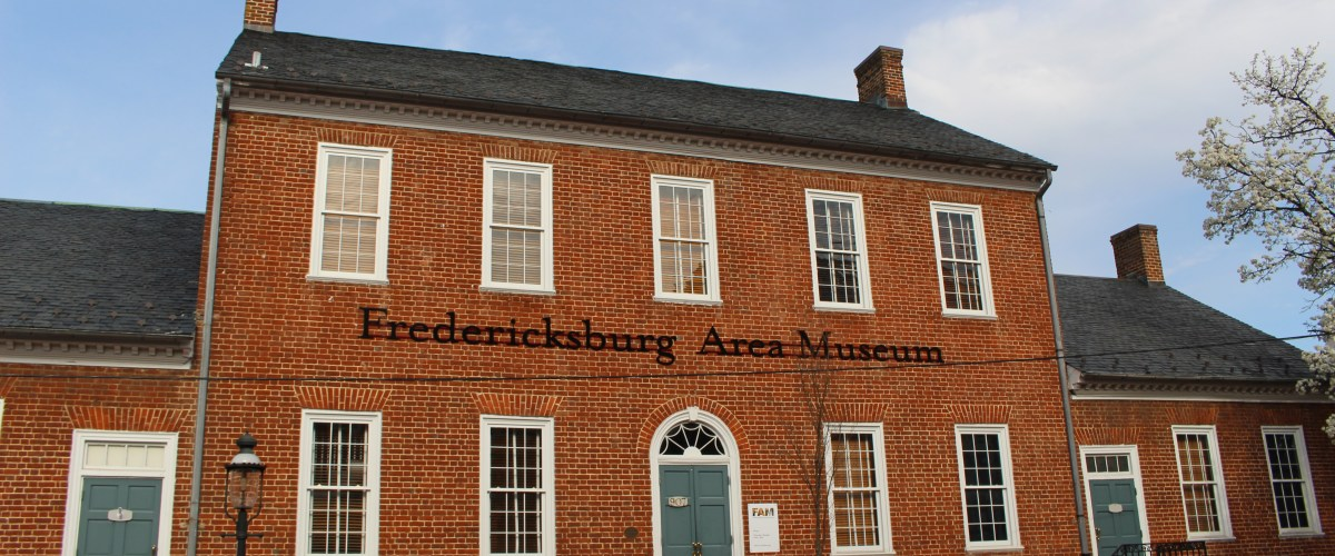 Pictured here is the Fredericksburg Area Museum --originally the Second Town Hall