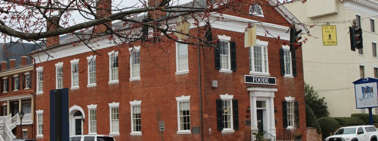 Pictured here is the Fredericksburg National Bank