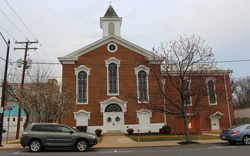 Pictured here is Shiloh Church (new Site)