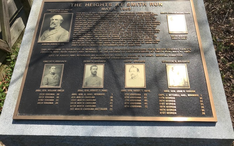 Picture of the Heights at Smith Run plaque