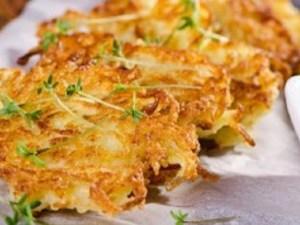 طريقة عمل اقراص البطاطا الحلوة المقلية