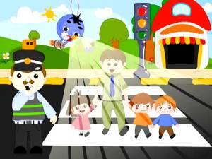 موضوع حول السلامة الطرقية للأطفال