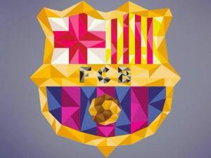 صور شعار برشلونة الجديد 2018