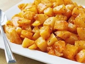 طريقة عمل مكعبات البطاطس الحارة