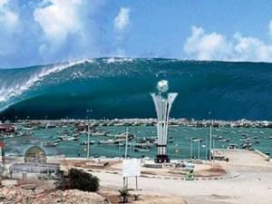 كيف حدثت ظاهرة تسونامي اندونيسيا
