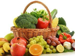 فوائد الفواكه والخضروات لصحة الانسان