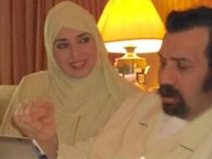 صور جيهان نصر بالحجاب مع زوجها السعودي