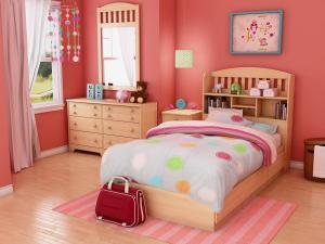 صور غرف نوم بناتيه