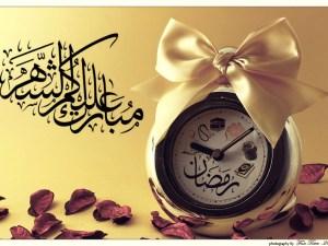 رمزيات مبارك عليكم شهر رمضان