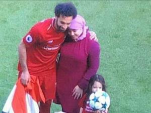 صور زوجة محمد صلاح ام مكة