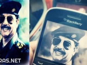 صور عن ذكرى صدام حسين مكتوب عليها