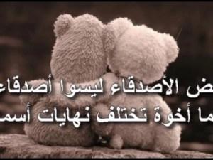 عبارات عن الصداقة الحقيقية اقوال عن الصديق الحقيقي