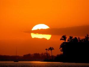 اجمل موضوع عن غروب الشمس