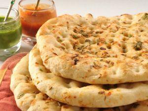 خبز النان الهندي بالصور