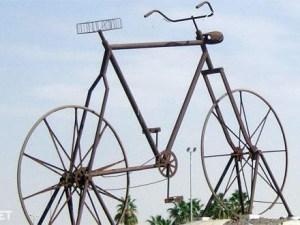 اكبر دراجة هوائية في العالم جدة