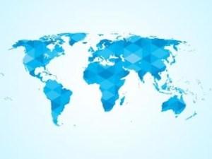 صور خريطة العالم العربي ملونة