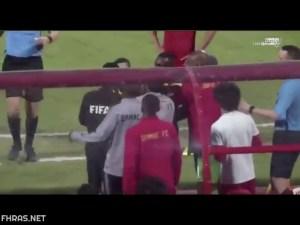 فيديو ردة فعل عنيف من لاعب الاتحاد عبد الإله المالكي