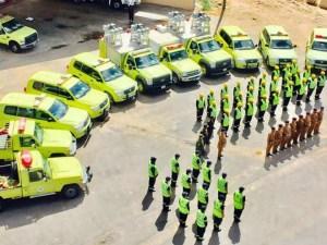إذاعة مدرسية عن يوم الدفاع المدني السعودي كاملة
