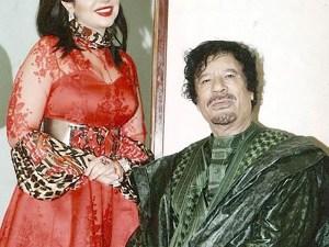حقيقة زواج حليمة بولند من القذافي