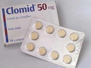 الكلوميد والحمل من اول شهر