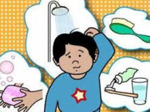تعبير عن اهمية غسل اليدين بالفرنسية للسنة الاولى متوسط