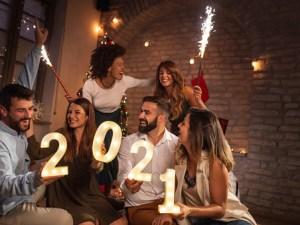 صور كروت وبطاقات تهنئة بمناسبة رأس السنة الميلادية Happy New Year 2021