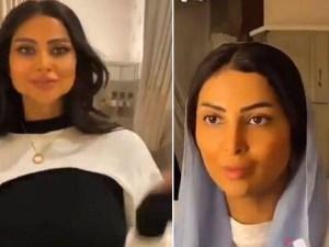 سناب العنود عبدالله تخلع الحجاب قبل الحذف