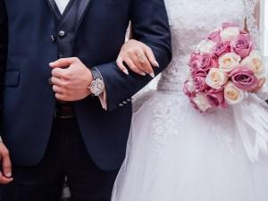 فستان عروس فخم جدا 2021